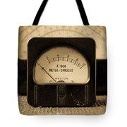 Vintage Electrical Meters Tote Bag