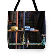 Vintage Factory Sink Tote Bag
