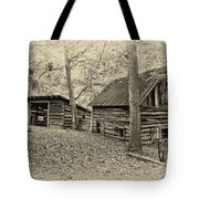 Vintage Farm Buildings Tote Bag