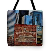 Vintage Ferry Advertisement Tote Bag by Benjamin Yeager
