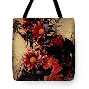 Vintage Floral Beauty  Tote Bag