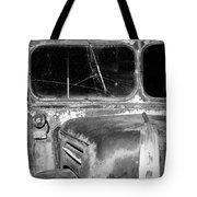 Vintage Ford Bus In Minnesota Tote Bag