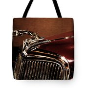 Vintage Ford Hood Ornament Tote Bag