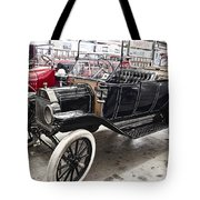 Vintage Ford Motor Vehicle Tote Bag by Douglas Barnard