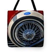 Vintage 1931 Ford Phaeton Spare Tire Tote Bag