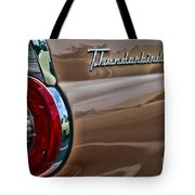 Vintage Ford Thunderbird Tote Bag
