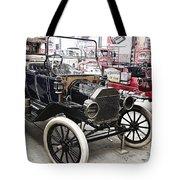 Vintage Ford Vehicle Tote Bag