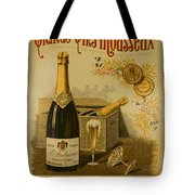 Vintage French Poster Andrieux Wine Tote Bag