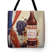 Vintage French Poster Byrrh Tote Bag