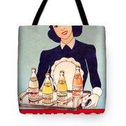 Vintage French Tin Sign Primerose Tote Bag