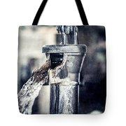 Vintage Ft. Worth Stockyards Water Pump Tote Bag