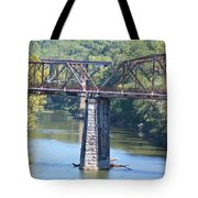 Vintage Garden City Bridge Tote Bag