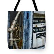 Vintage Gas Pump 2 Tote Bag