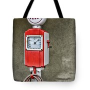 Vintage Gas Station Air Pump 2 Tote Bag
