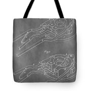 Vintage Glass Mold Patent Tote Bag