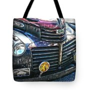 Vintage Gm Truck Hdr 2 Grill Art Tote Bag