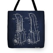 Vintage Golf Cart Drawing From 1943 Tote Bag