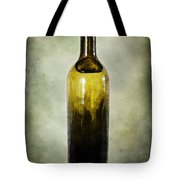 Vintage Green Glass Bottle Tote Bag