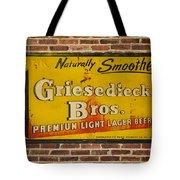 Vintage Griesedieck Bros Beer Dsc07192 Tote Bag
