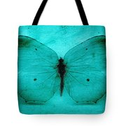 Vintage Grunge Butterfly Tote Bag