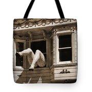 Vintage Haight And Ashbury San Francisco Tote Bag by RicardMN Photography