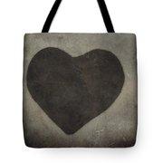 Vintage Heart Tote Bag
