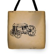 Vintage Henry Ford Tractor Patent Tote Bag