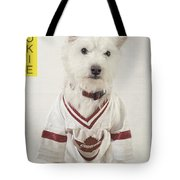 Vintage Hockey Rookie Player Card Tote Bag