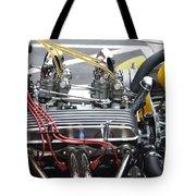 Vintage Hotrod Engine Tote Bag
