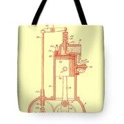 Vintage Internal Combustion Engine Patent 1940 Tote Bag
