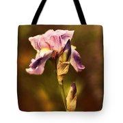 Vintage Iris Tote Bag