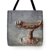 Vintage Iron Work Tote Bag