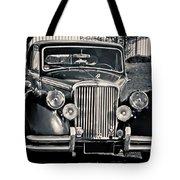 Vintage Jaguar 1950s Tote Bag