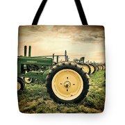 Vintage John Deere Tractors Tote Bag