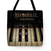 Vintage Kimball Piano Tote Bag