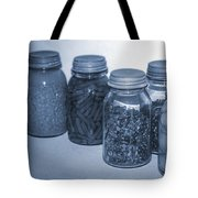 Vintage Kitchen Glass Jar Canning Tote Bag