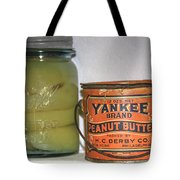 Vintage Kitchen Pantry Pairs And Peanut Butter Tote Bag