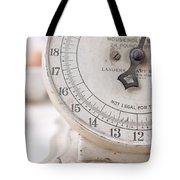 Vintage Kitchen Scale Tote Bag