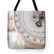 Vintage Kitchen Scale Tote Bag