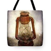 Vintage Lantern Tote Bag