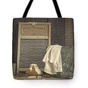 Vintage Laundry Room II By Edward M Fielding Tote Bag