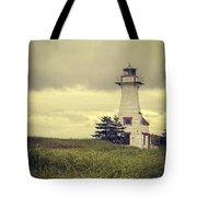Vintage Lighthouse Pei Tote Bag
