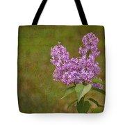Vintage Lilac Bush Tote Bag