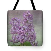 Vintage Lilacs Tote Bag