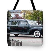 Vintage Lincoln Limo 1941 Tote Bag