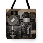 Vintage Luggage Tote Bag