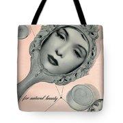 Vintage Make Up Advert Tote Bag