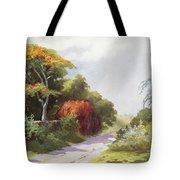 Vintage Manoa Valley Tote Bag