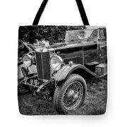 Vintage Mg Tote Bag