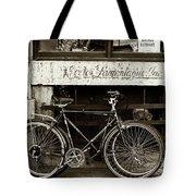 Vintage Montreal Bikes Tote Bag